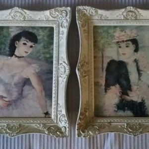Victorian Woman Framed Pictures
